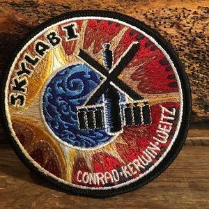 Vintage sew on patch.